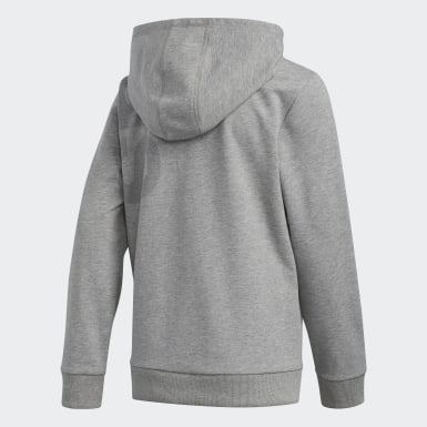 Youth Training Grey Heather Hoodie