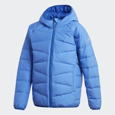 синий Пуховик Frosty