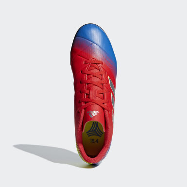 Calzado de Fútbol Nemeziz Messi Tango 18.4 Pasto Sintético Rojo Mujer Fútbol