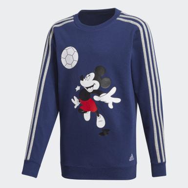 Fato de Treino Football Azul Rapazes Treino