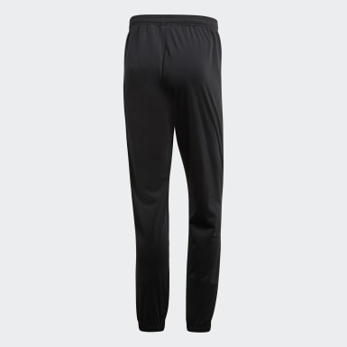 Men Training Black Core 18 Tracksuit Bottoms