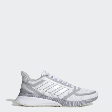 Men's Walking White Nova Run Shoes