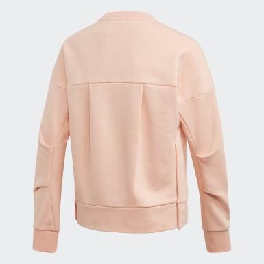 Sweatshirt Glam ID Rosa Raparigas Treino