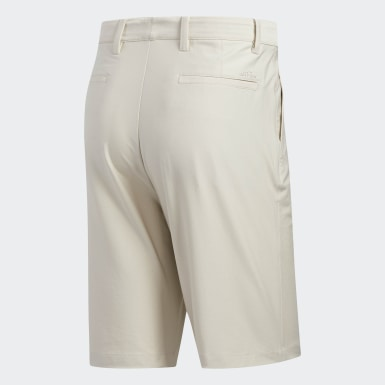 Men's Golf Beige Adipure Tech Shorts