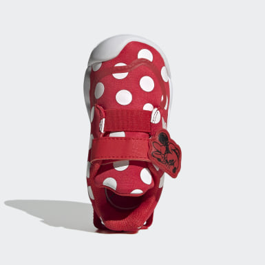 Tenis Active Play Disney Mickey Mouse Rojo Niño Training