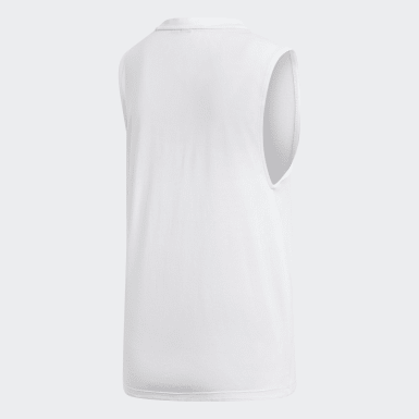 Women Essentials White Must Haves Badge of Sport Tank Top