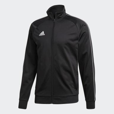 Mænd Træning Sort Core 18 jakke