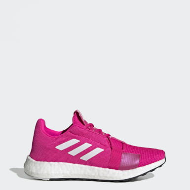 Women Running Pink Senseboost Go Shoes