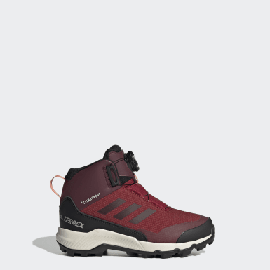 Barn TERREX Burgundy Terrex Winter Mid Boa Shoes