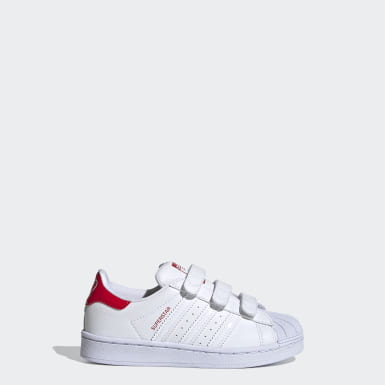 Kids 4-8 Years Originals White Superstar Shoes