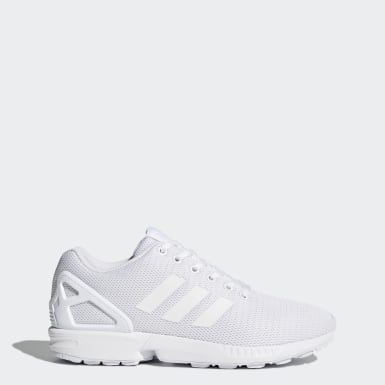 zx flux heren wit