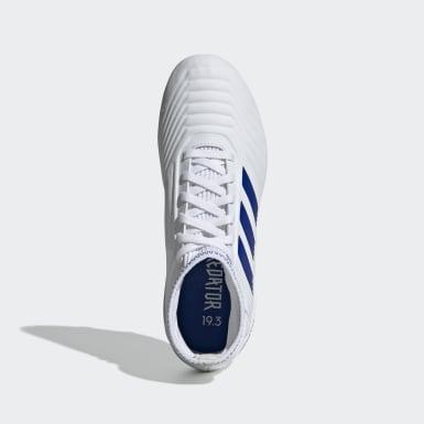 Zapatos de Fútbol Predator 19.3 Terreno Firme Blanco Niño Fútbol