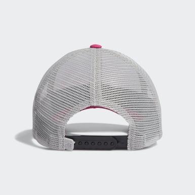 Youth Golf Pink Gradient Trucker Hat