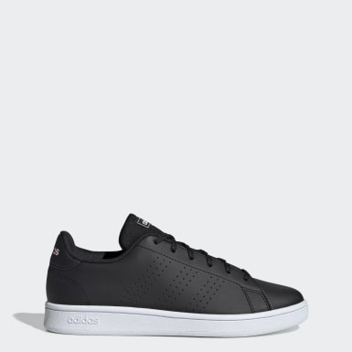 Tenis Advantage Base Negro Mujer Sport Inspired