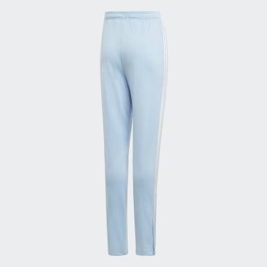 Youth Originals Blue Culture Clash High Waist Pants