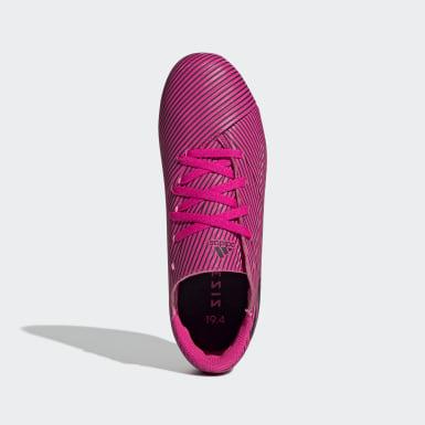 Boys Fotboll Rosa Nemeziz 19.4 Flexible Ground Boots