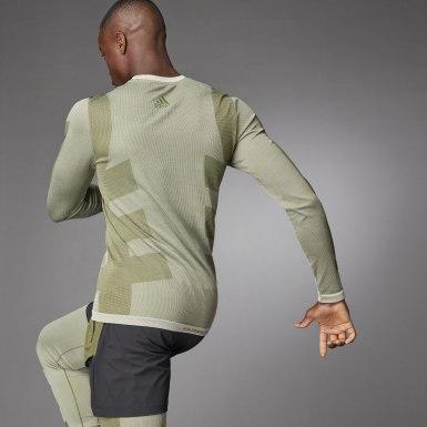 Mænd Studio Hvid Studio Techfit Seamless Long Sleeve trøje