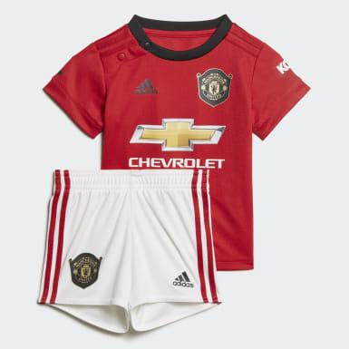 Manchester United Baby hjemmebanesæt