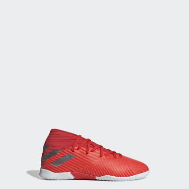 Chaussure Nemeziz 19.3 Indoor rouge Enfants Soccer
