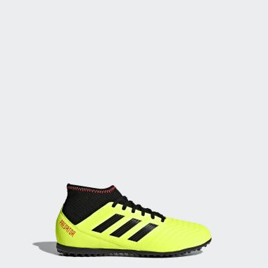 Kluci Fotbal žlutá Kopačky Predator Tango 18.3 Turf