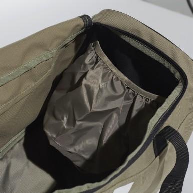 ไลฟ์สไตล์ สีเขียว กระเป๋าดัฟเฟิล 3-Stripes ขนาดกลาง