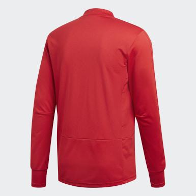 Männer Fußball Olympique Lyon Trainingstrikot Rot