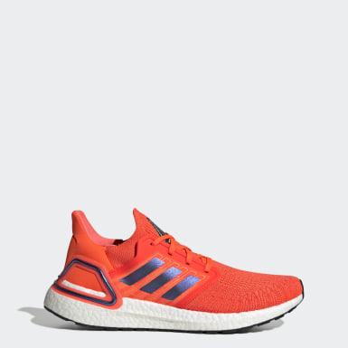 Chaussure Ultraboost 20 orange Course