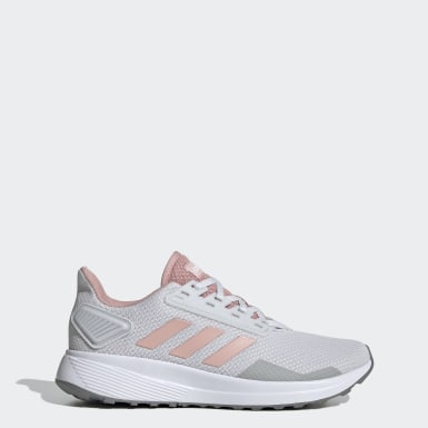 Women Running Grey Duramo 9 Shoes