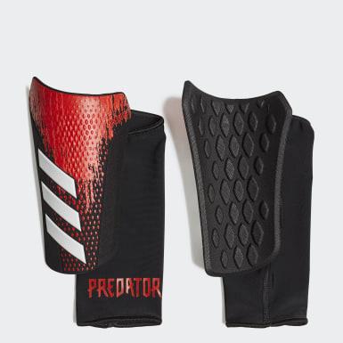Soccer Black Predator 20 Competition Shin Guards