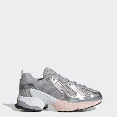Women Originals Grey EQT Gazelle Shoes