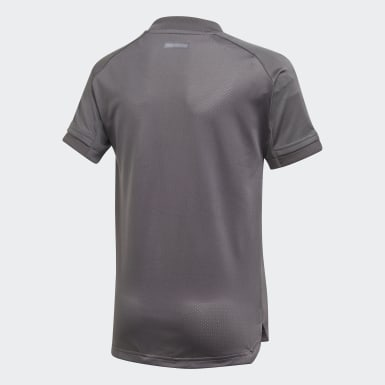 Maillot d'entraînement Real Madrid Gris Enfants Football