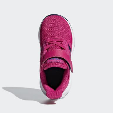 Girls Running Pink Duramo 9 Shoes