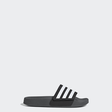 Children Yoga Grey Adilette Shower Slides