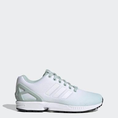 Women Originals Turquoise ZX Flux Shoes
