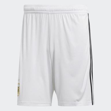 Shorts de Visitante Selección Argentina Blanco Hombre Fútbol