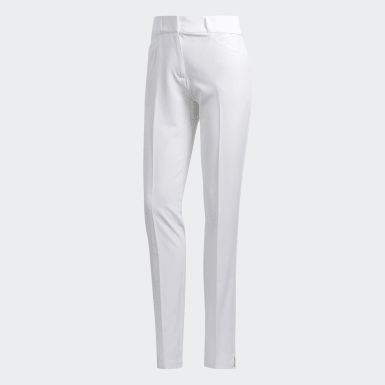 Women Golf White Ultimate Club Full Length Pants