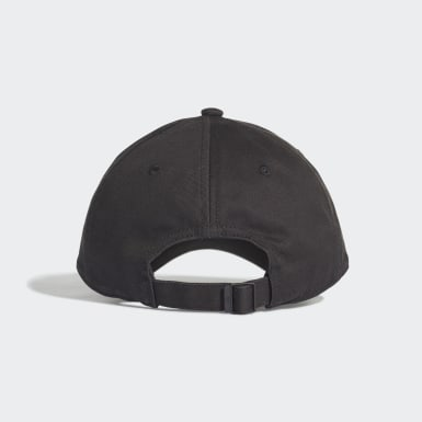 Training Black Six-Panel Classic 3-Stripes Cap