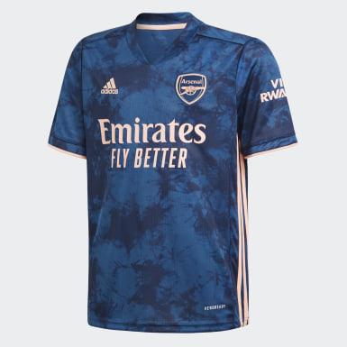 Camisola do Terceiro Equipamento 20/21 do Arsenal Azul Criança Futebol