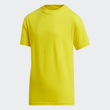 Youth Training Yellow Amplifier Tee