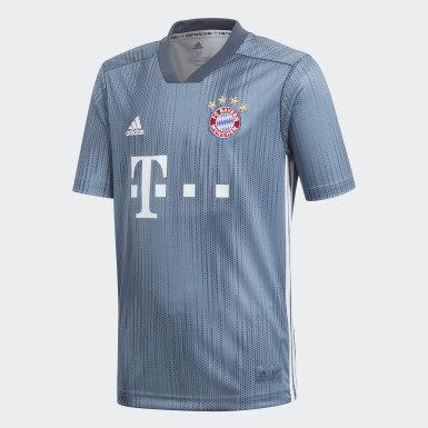 синий Третья игровая футболка Бавария Мюнхен