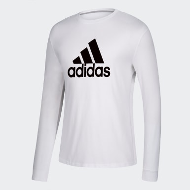 Men's Sport Inspired White GTP L/S