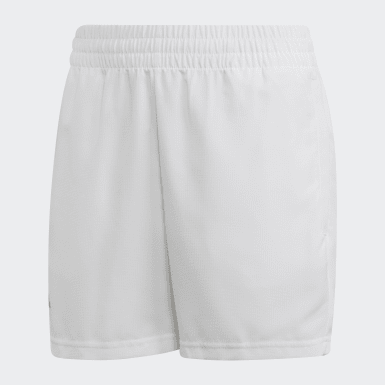 Boys Tennis White Club Shorts