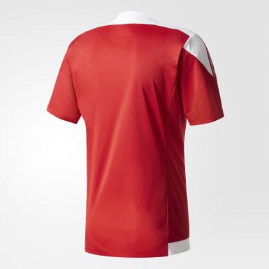 Camisa Listrada 15 Vermelho Homem Futebol
