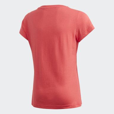 розовый Футболка Essentials Linear