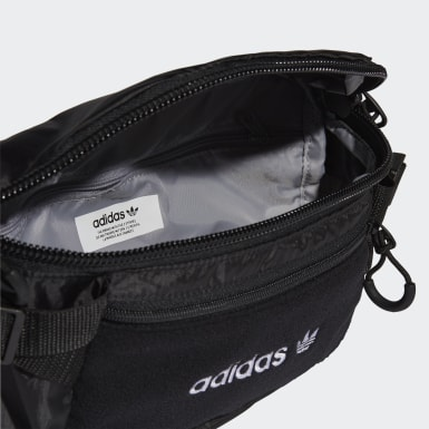 Bolsa de Cintura Grande Premium Essentials Preto Originals
