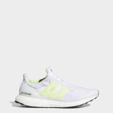 Men Running White Ultraboost 5 DNA Shoes