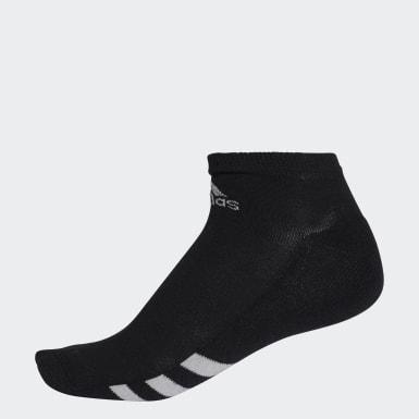 Männer Golf Ankle Socken, 3 Paar Schwarz