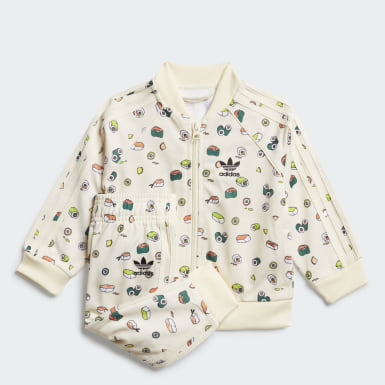 Kids Originals Beige Sushi Track Suit