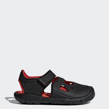 Çocuklar Yüzme Siyah FortaSwim 2.0 Sandalet