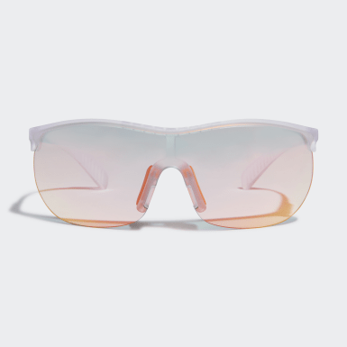 Padel Tennis White Sport Sunglasses SP0003
